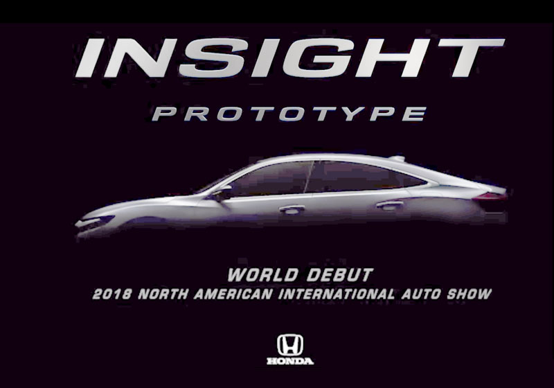 Honda 2018 Insight Prototype