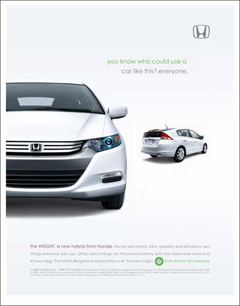 First 2010 Insight print ad