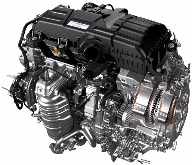 Honda 2018 I-MMD 2-Motor Hybrid System