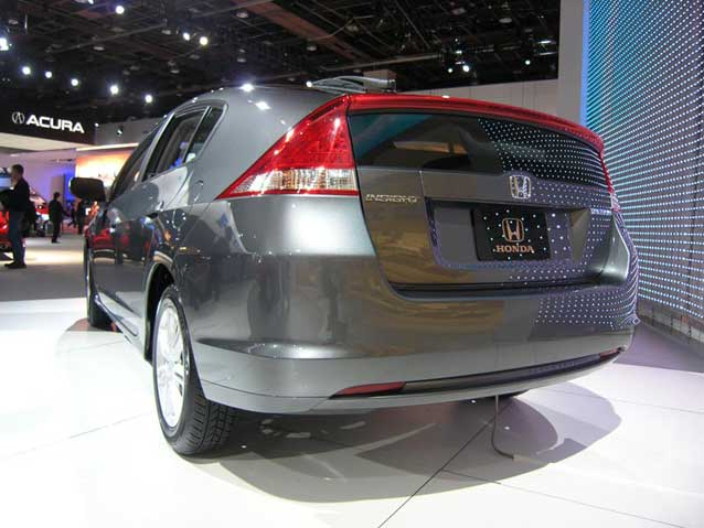 NAIAS Silver Insight rear