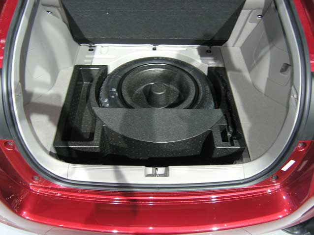 NAIAS Insight spare tire